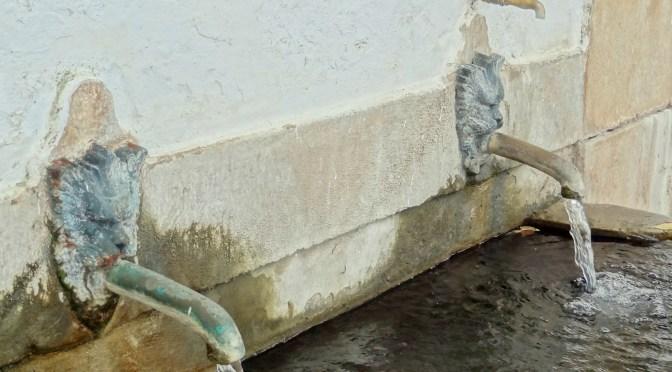 Wasser-Versorgung in Portugal