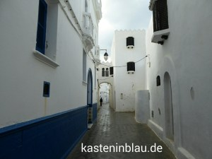 Gasse in der Altstadt (KASBAH) von Asilah