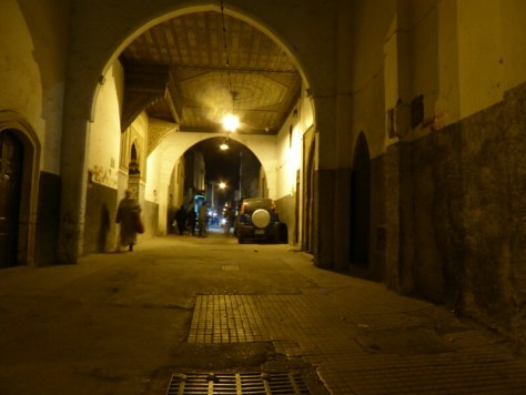 Abendstimmung in der Medina