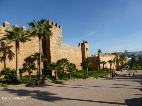 Rabat mit dem Wohnmobil