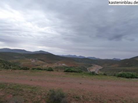 Landschaft zwischen Sidi Ifni und der Draa Mündung