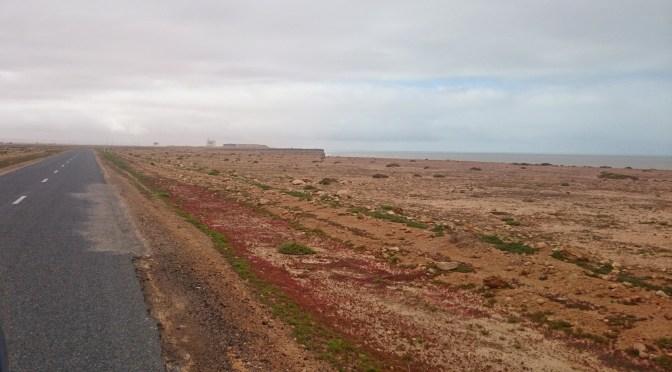 Fahrt in die West-Sahara (von Sidi Ifni nach Dakhla)