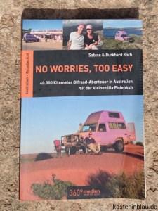 Australien Buch pistenkuh www.kasteninblau.de