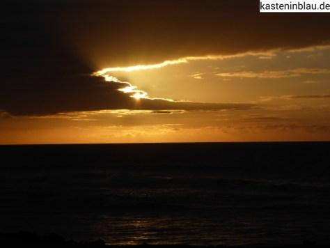 Sonnenuntergang in Foum el Oued
