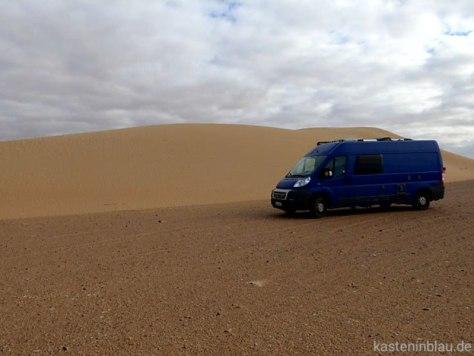 Sahara und Wohnmobil