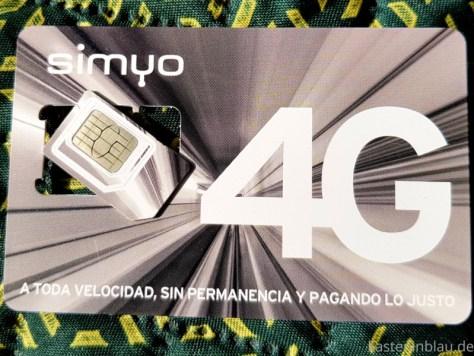 Mobiles Internet in Spanien: Simyo