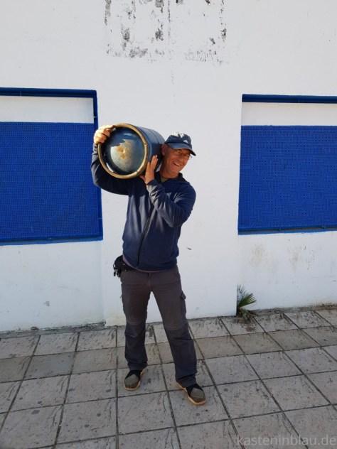 Gasflaschen Marokko