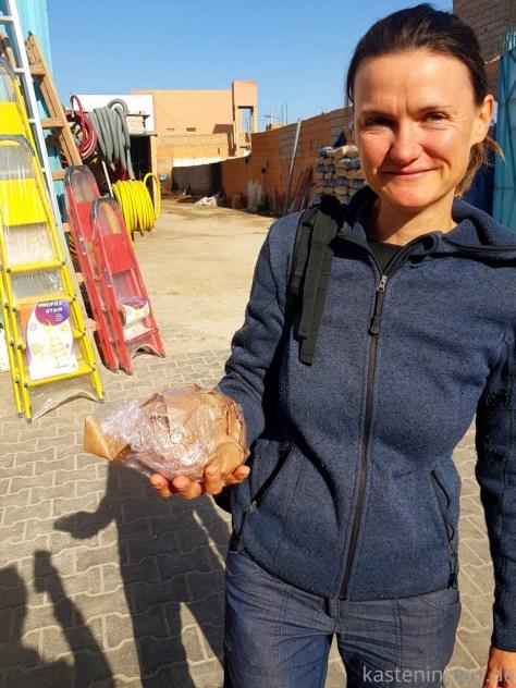 Eierverpackung in Marokko