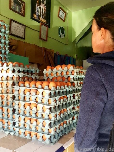 Eier in Marokko