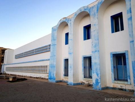 Marokko Sidi Ifni kasteninblau