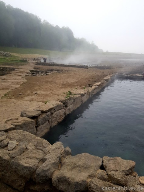 Heiße Quellen in Galicien