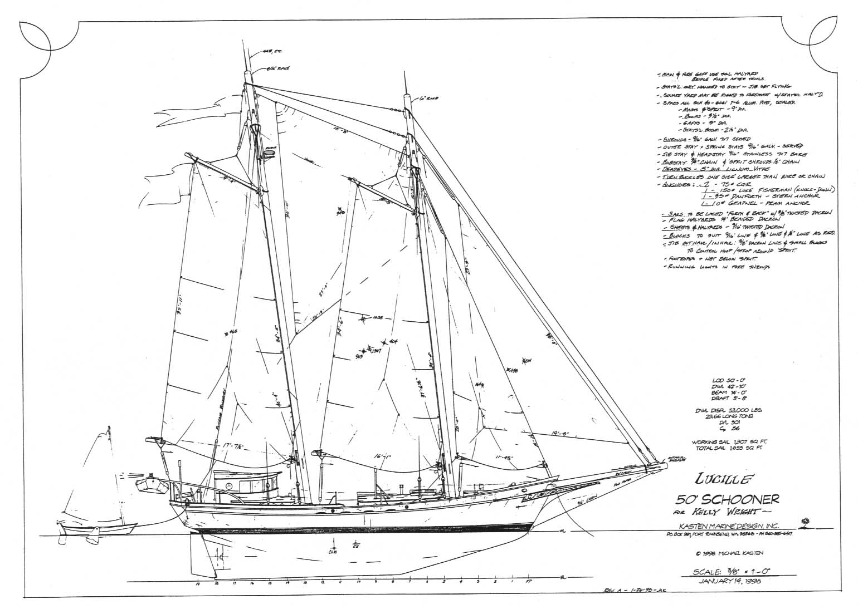 Motor Sailer Boat Plans