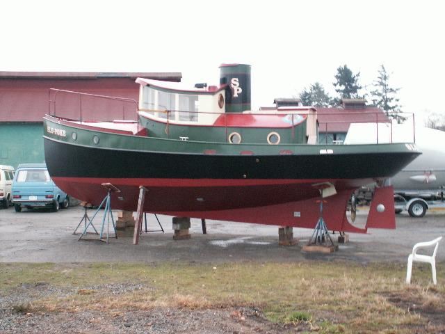 32 Steel Tug Yacht TERRIER