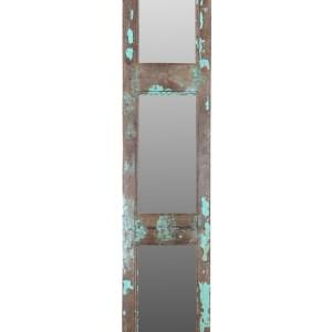 spiegels gemaakt van oude teakhouten deuren