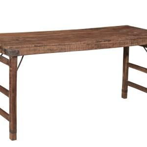 teakhouten tafel – klaptafel