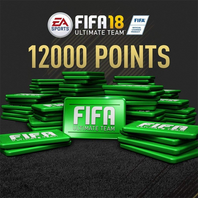 FIFA 18 - 12000 FIFA POINTS - PS4/ Xbox One/ Switch, Digital Code