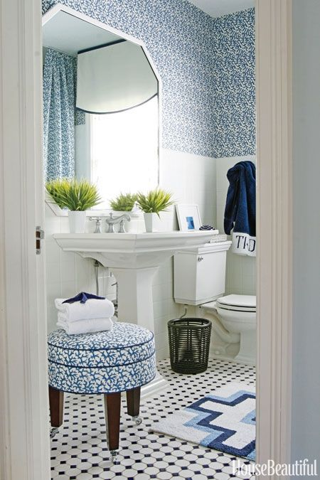 12 Beautiful Blue Bathrooms That Feel Refreshing And Serene