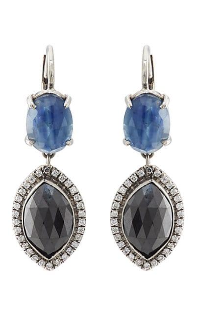 Zoe Mixed-Gemstone Drop Earrings
