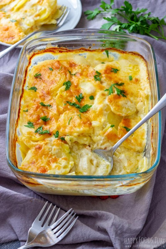 Creamy Potatoes Gratin