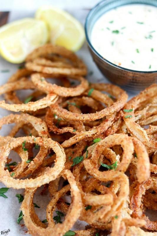 Crispy Fried Onion Straws