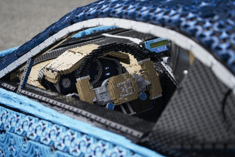 Meet The Life-Size LEGO Technic Bugatti Chiron You Can Actually Drive