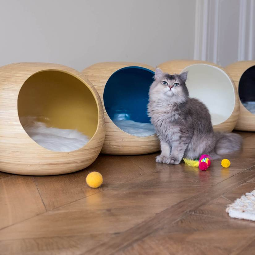 design kattenmeubel Dandy-Cat Ball kattenhuis