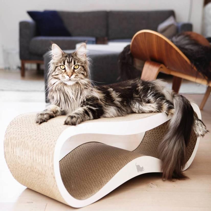 design kattenmeubel MyKotty kattenkrabmeubel Lui