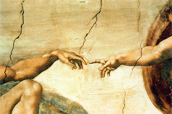 Image result for images of Michelangelo the creation