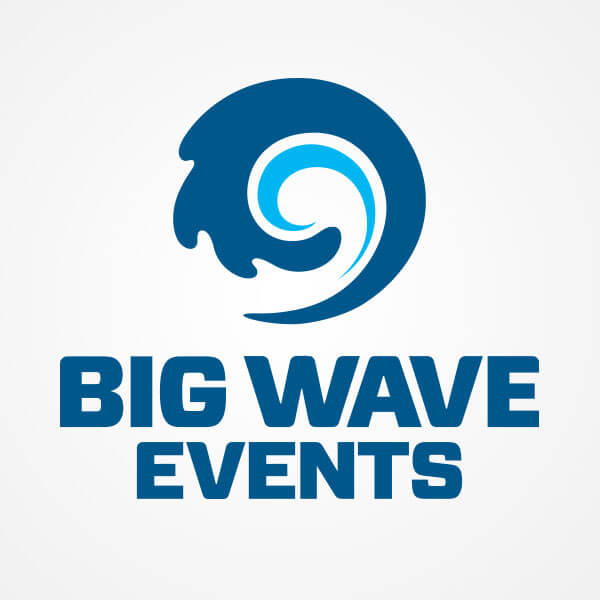 Big Wave Events Logo Design