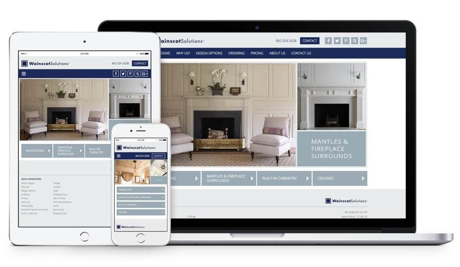 Wainscot Solutions Responsive Web Design