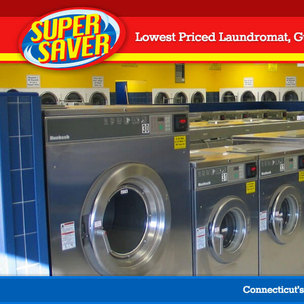 Responsive Web Design - Super Saver Laundromat