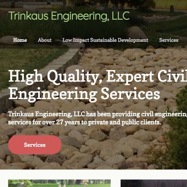 Responsive Web Design - Trinkaus Engineering