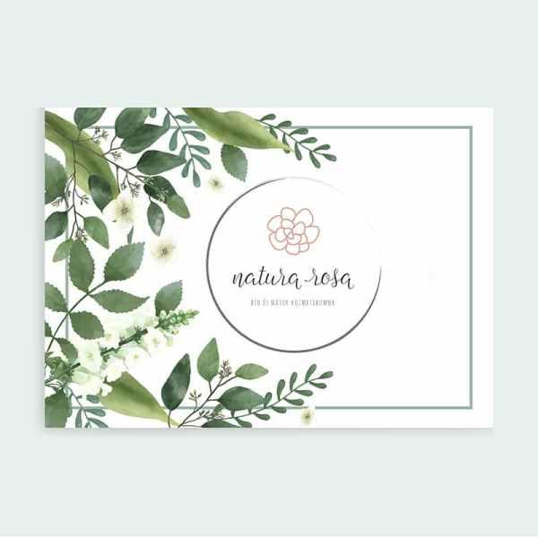 Natura Rosa névjegy kártya, meghívó kártya,Natura Rosa pecsét/Natura Rosa másodlagos logó, Natura Rosa tavaszi virágos, retro, letisztult, pink, nőies logó kisvállalkozásoknak. Kozmetika, natur termékek, virágüzlet, illóolaj, parfume, fodrászat, ruházati vállalkozás, tervezőiroda, tanácsadás, coaching, kézműves vállalkozás, lakberendezés és más vállalkozási ág is személyre szabhatja és egyedivé teheti vele a vállalkozását.