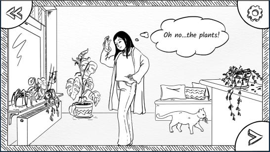 Ilustracja scenki