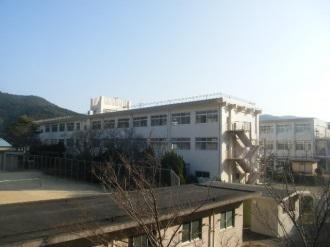 五島南高校普通教室棟外壁改修工事