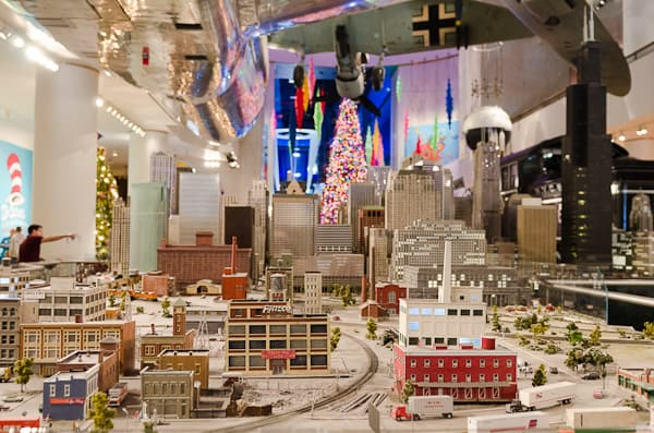The model of Chicago at the Museum of Science and Industry