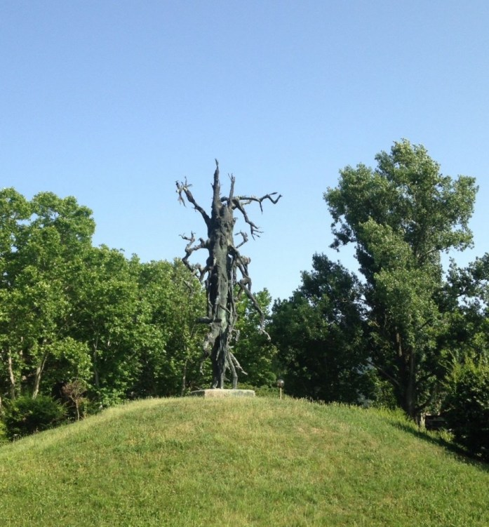 Dead Tree Memorial for Victims of WWII in Bekescsaba