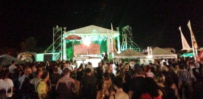 Bekescsaba Beer Festival - Tankcsapda concert on the main stage
