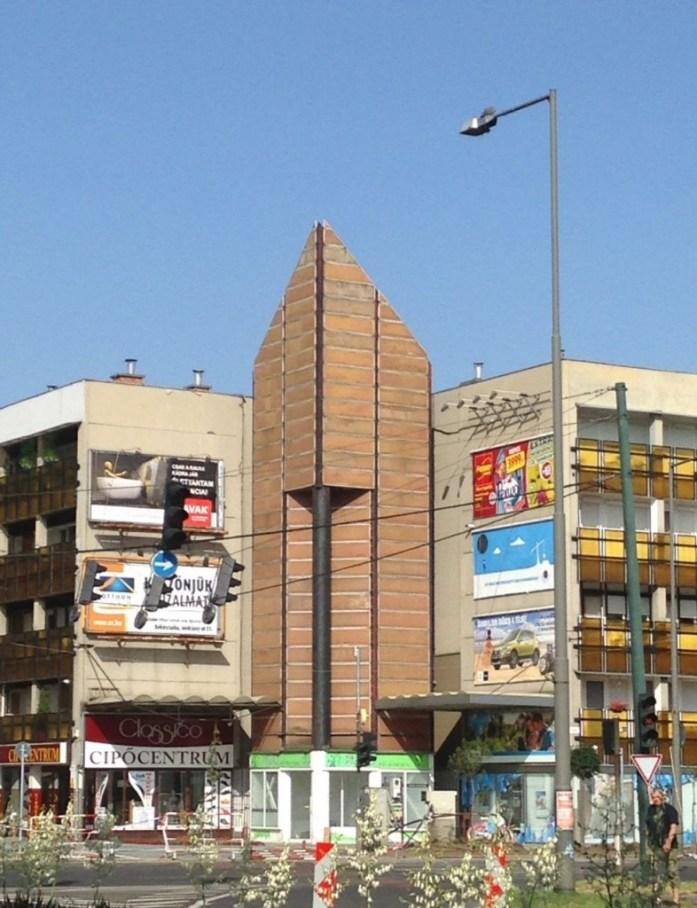 Communist architecture building in Békéscsaba