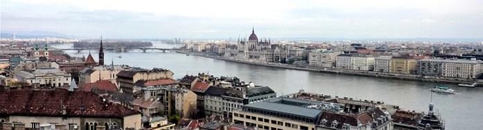budapest panorama parliament margaret island