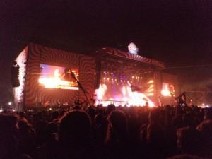 Ellie Goulding concert at Sziget festival