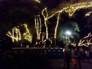 Sziget Christmas Trees - light installations