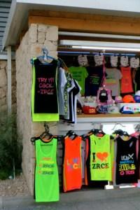 Zrce beach merchandising