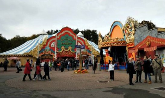 peur sur le parc asterix decoration halloween