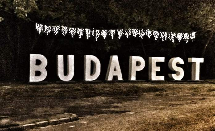 sziget festival budapest sign