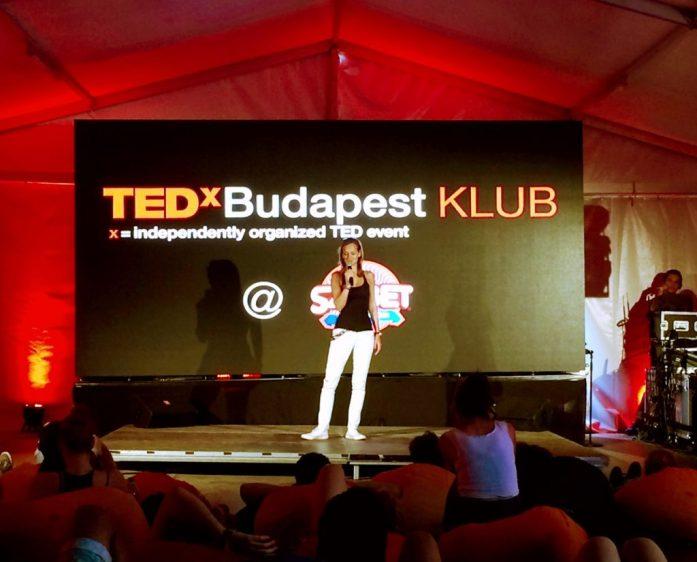TEDx Talks budapest club at Sziget Festival
