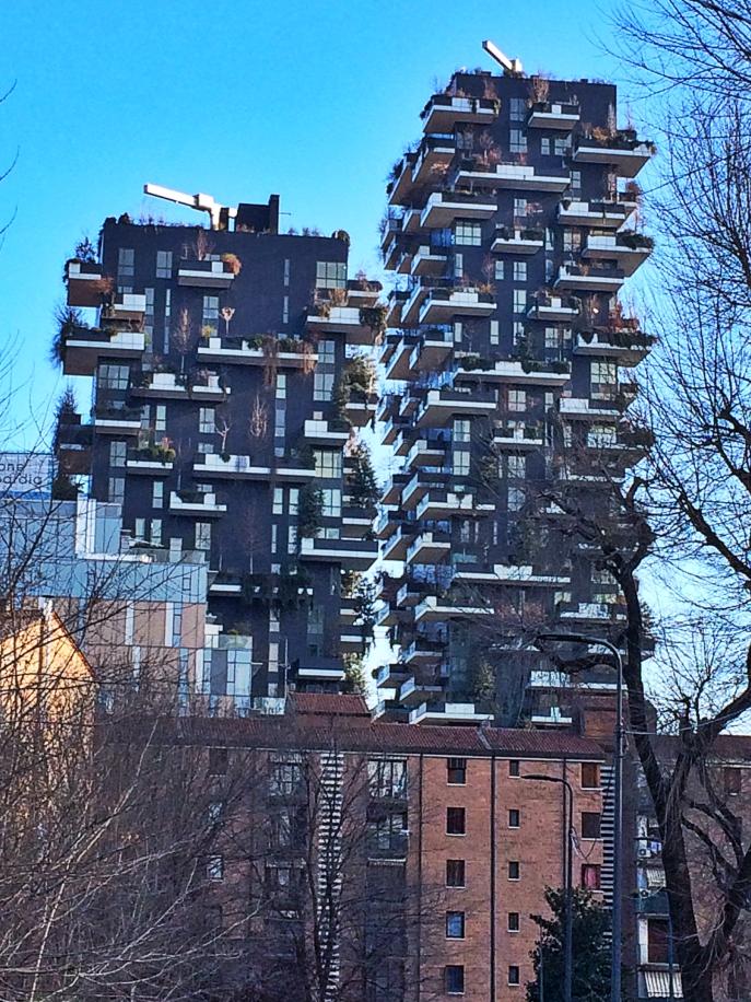 modern architecture milan green space