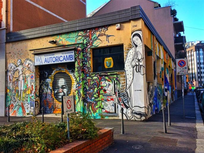 street art milan italy