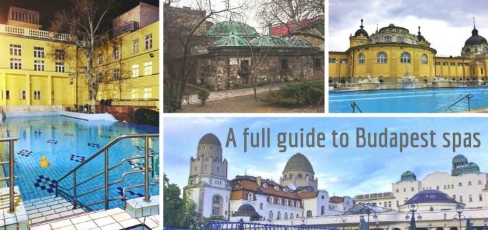Budapest baths guide