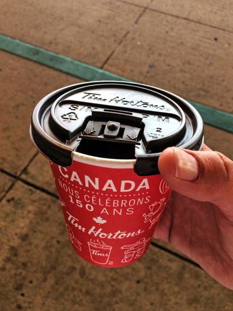 Tim Hortons Canada 150 cup